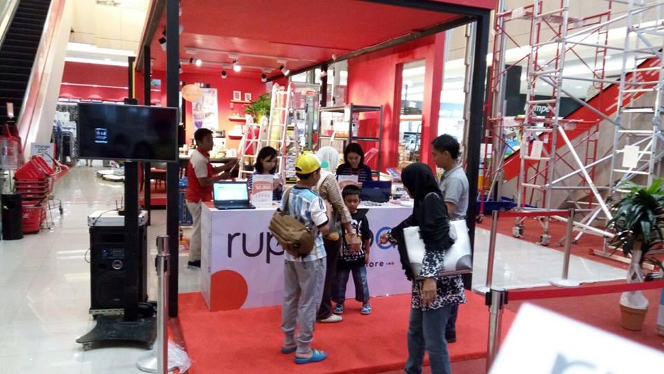 Booth ruparupa.com