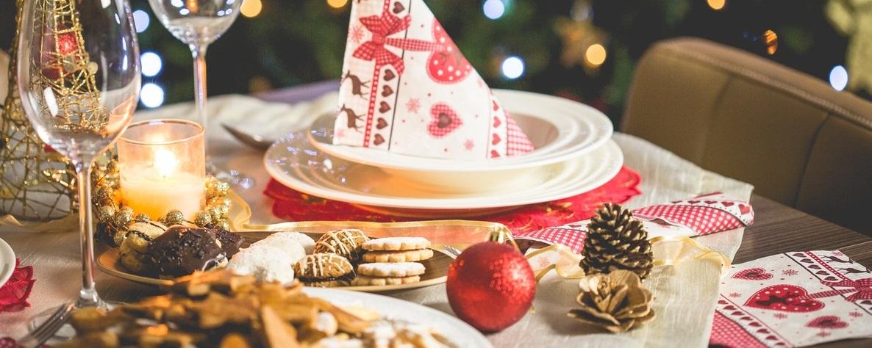 dekorasi pesta natal