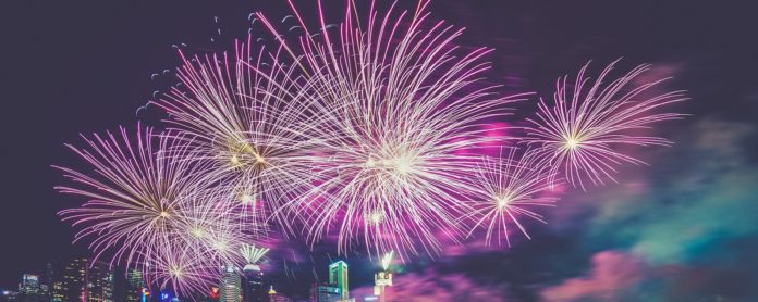 dekorasi pesta tahun baru