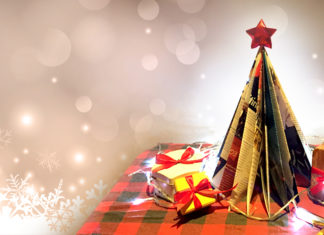 Cara Membuat Pohon Natal Sederhana Sendiri dari Majalah Bekas