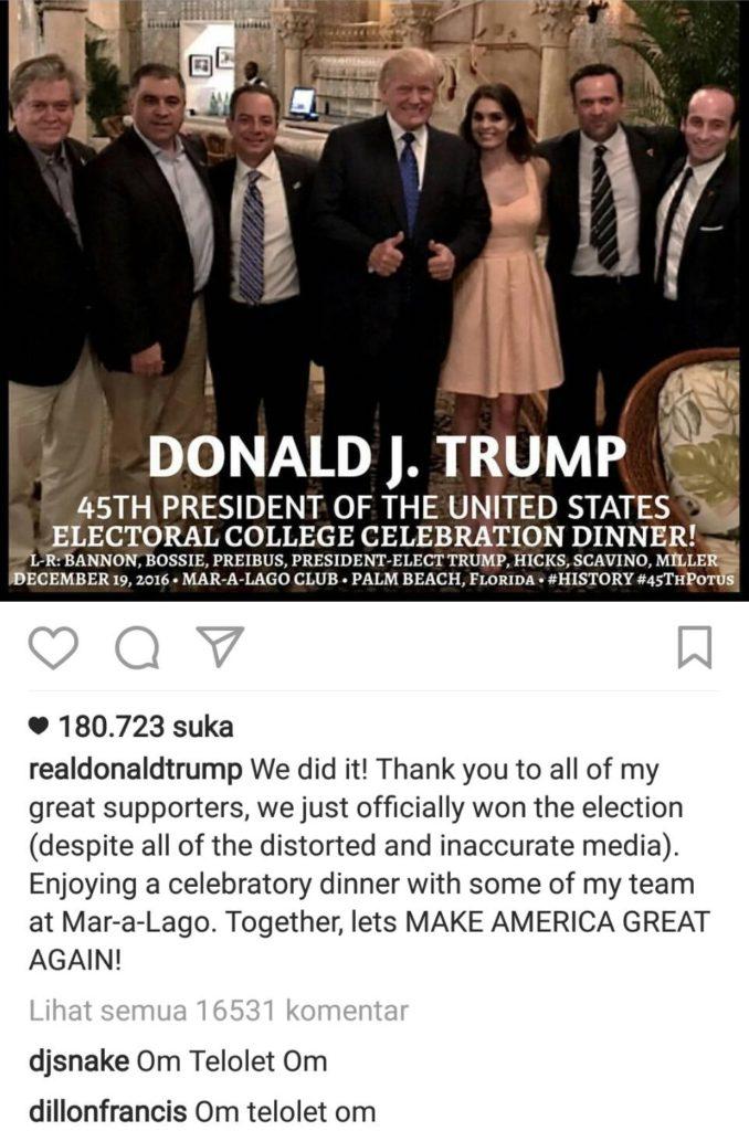 Om Telolet Om Trump