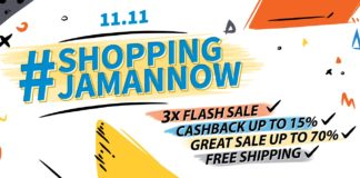Promo 11.11 #Shoppingjamannow