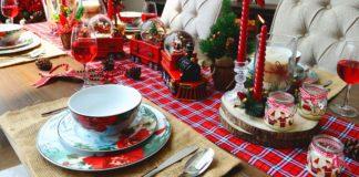 Dekorasi Ruang Makan (Akhir Tahun yang Meriah!)