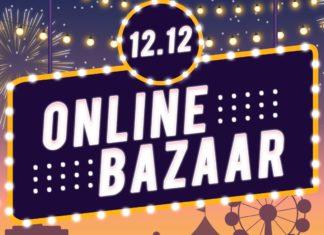 12.12 Online Bazaar! Diskon Besar Hingga 79%