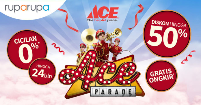 5 Cara Belanja Lebih Hemat di ACE Parade