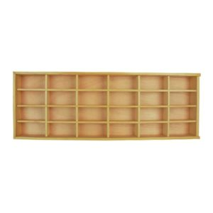 Dutchwood Rak Display 24 Slot - Krem