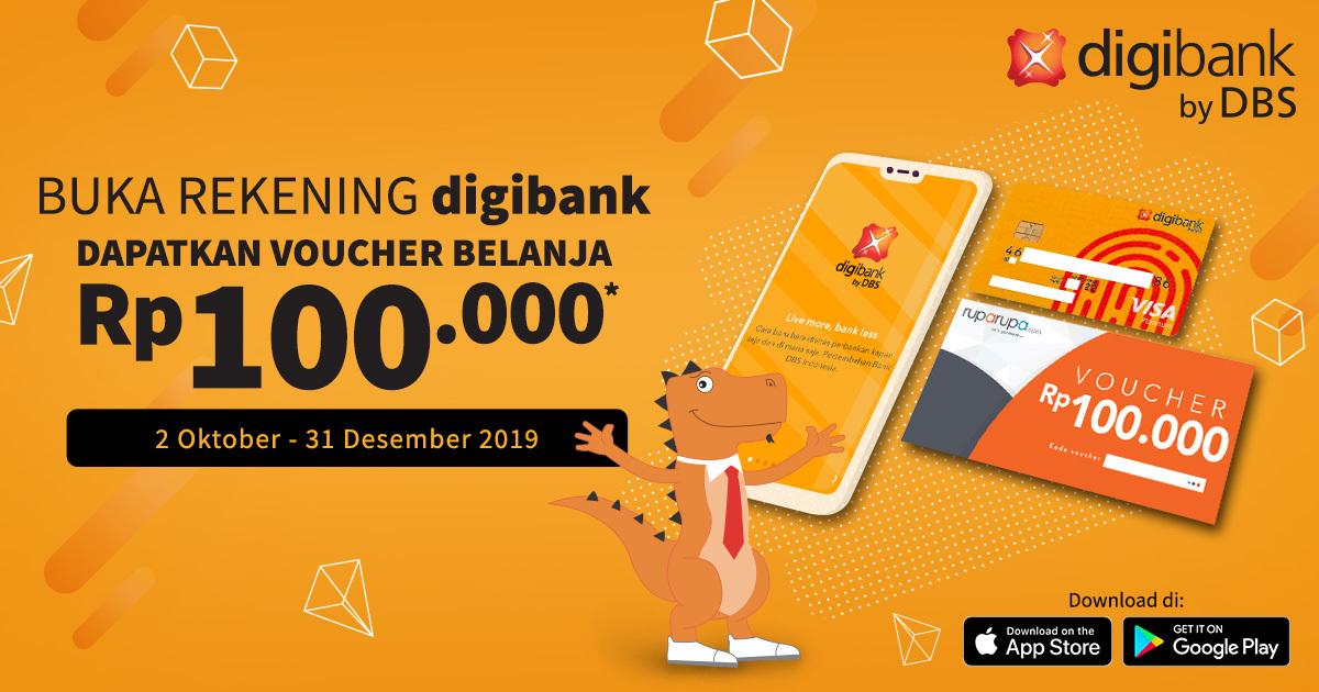 DIGIBANK KINI HADIR DI RUPARUPA - 21 pinjaman online cicilan 12 bulan Super Mantab
