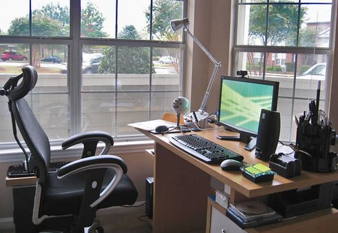 Gambar inspirasi desain home office