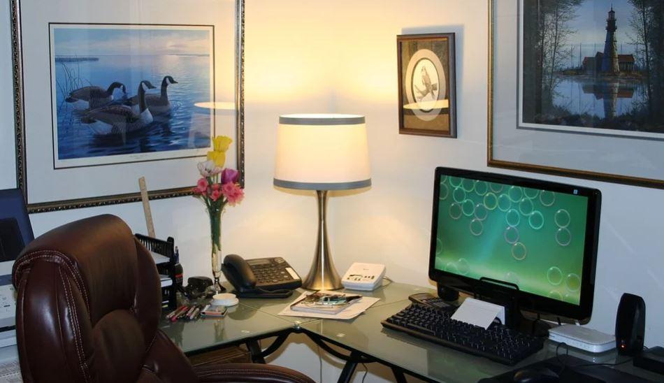 Gambar lampu ruang kerja