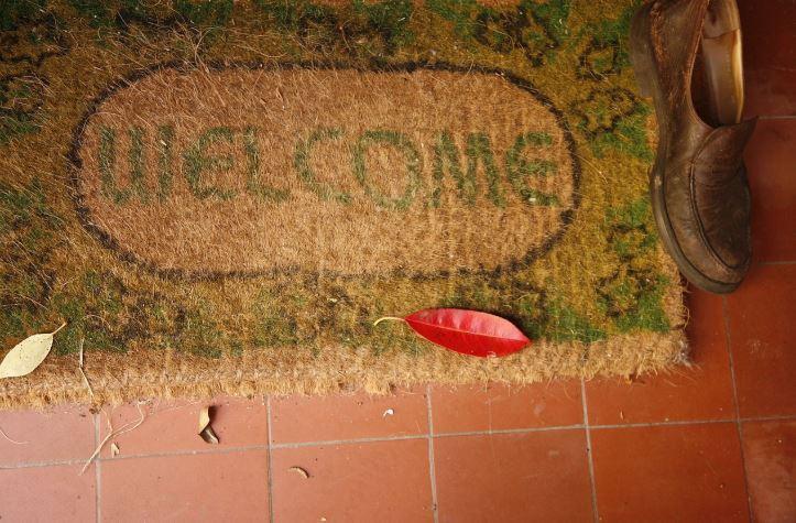 Gambar karpet untuk outdoor