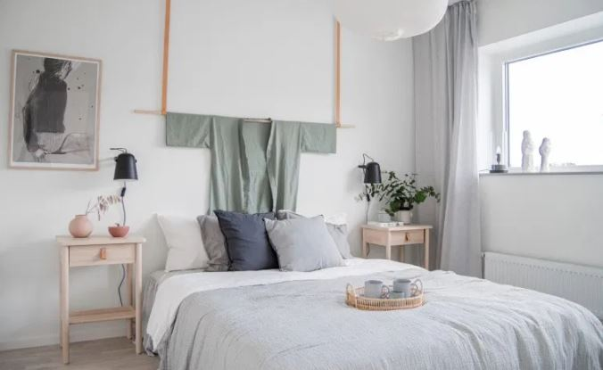 Gambar kamar tidur japandi