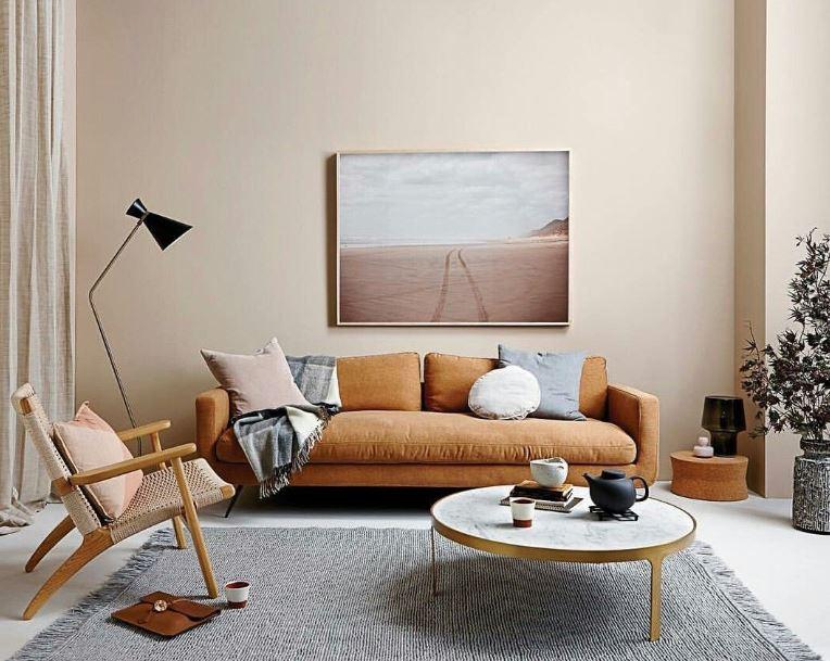 Gambar ruang tamu japandi