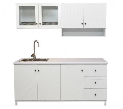 kitchen set minimalis straight