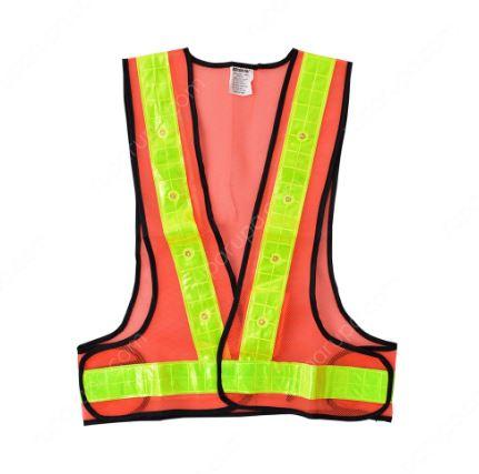 rompi pengaman LED pelindung tubuh