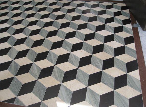 keramik geometris