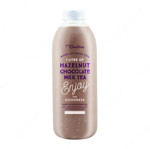harga chatime hazelnut chocolate milk tea