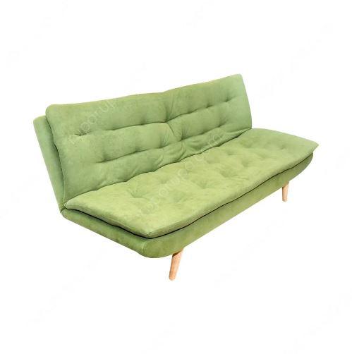 sofa bed denah rumah minimalis 2 lantai