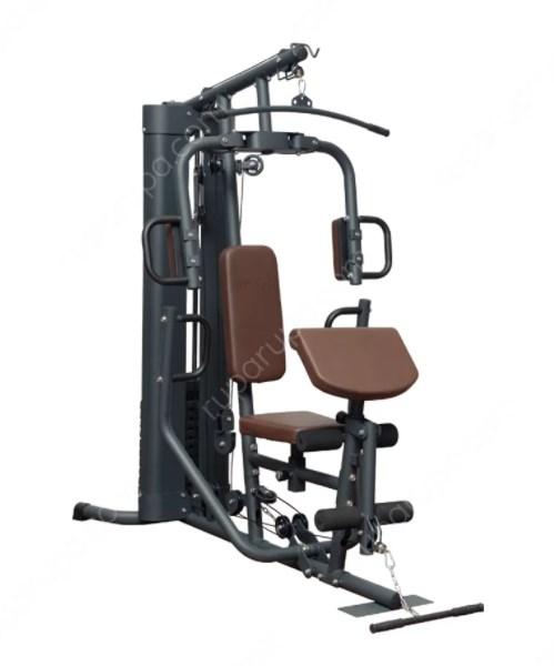 Berwyn Set Alat Fitness Multifungsi B1 68 Kg - Abu Abu/Biru