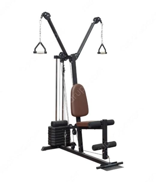 Berwyn Set Alat Fitness Multifungsi B2 45 Kg - Abu Abu