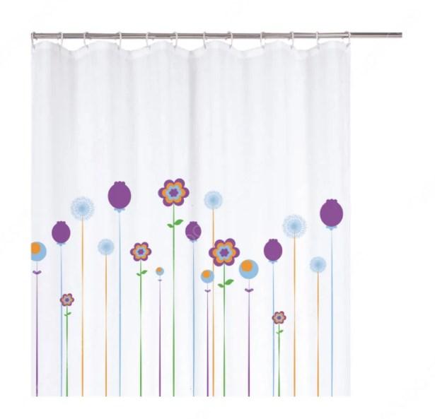 gorden kamar mandi motif bunga