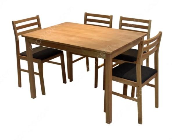 Dining Set Minimalis persegi panjang