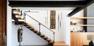 dekorasi dinding tangga minimalis