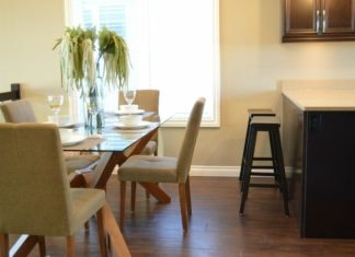 dining set minimalis