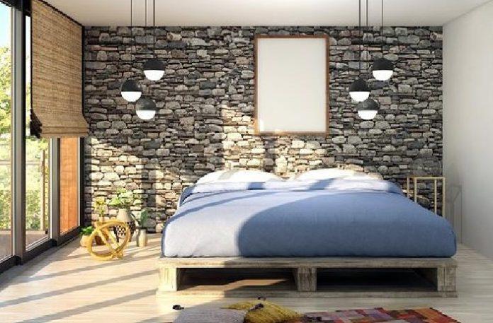 matras dengan tempat tidur