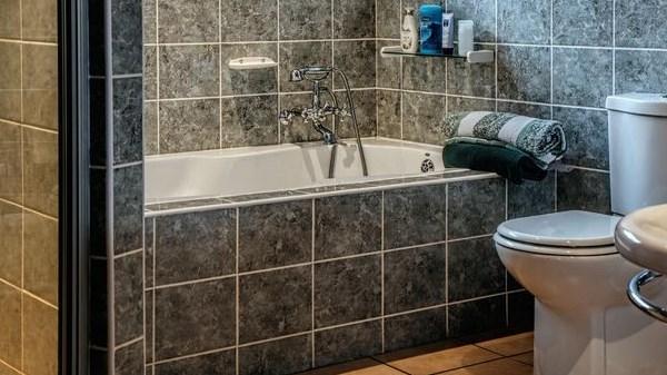 keset kamar mandi serap air