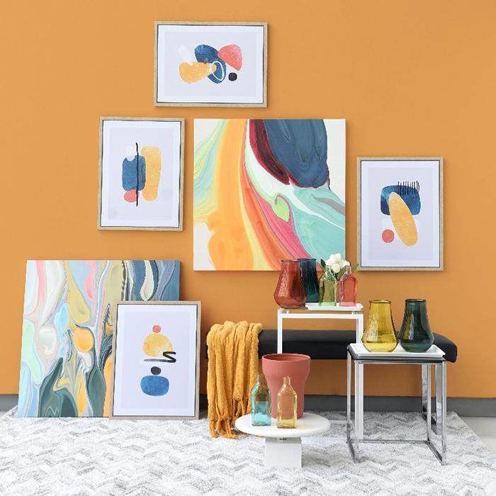 Warna cat ruangan tamu kuning