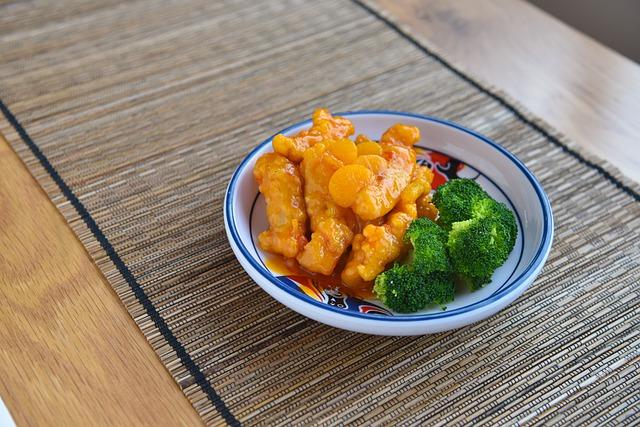 menu diet seminggu ayam asam manis