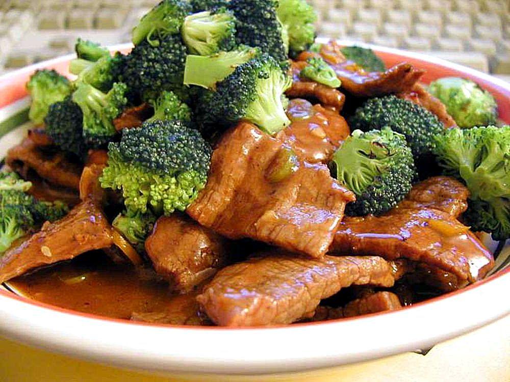 Menu diet seminggu sapi brocoli