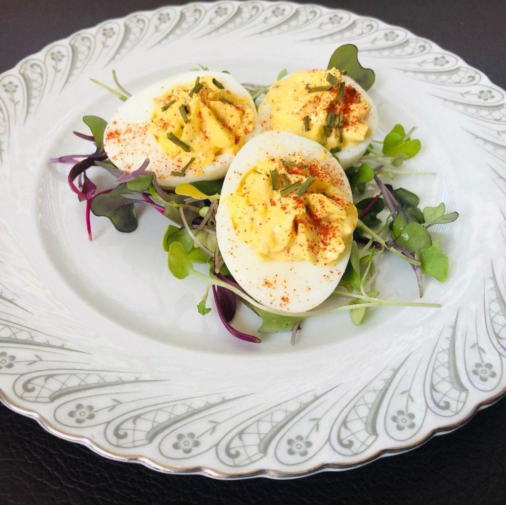Telur Utuh Sebagai menu buka puasa diet