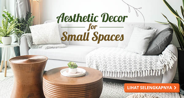 Dekorasi rumah kecil sederhana