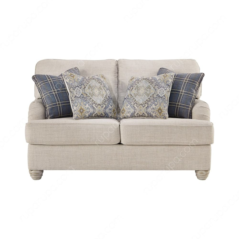 desain furniture minimalis sofa dua dudukan