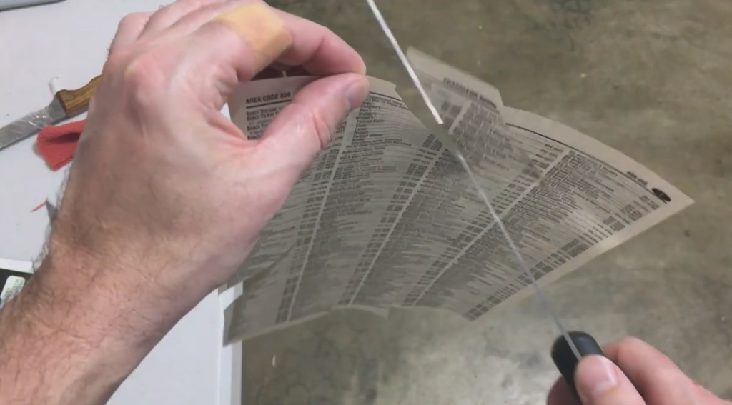 blade paper test