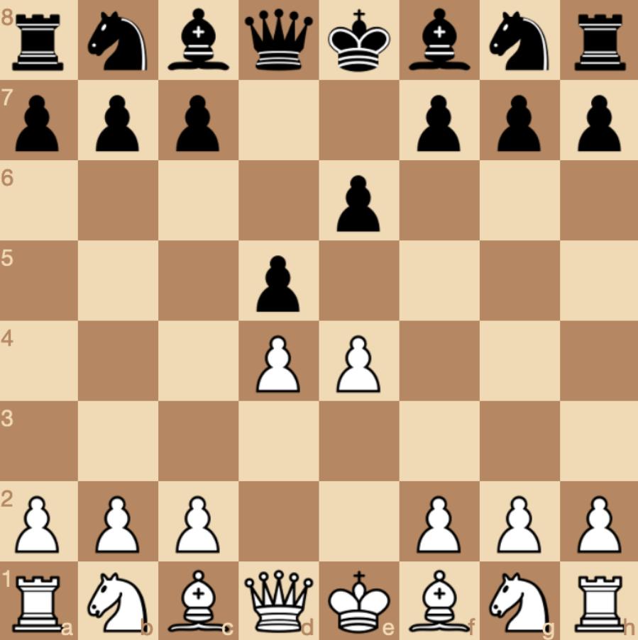 strategi pembukaan french defense
