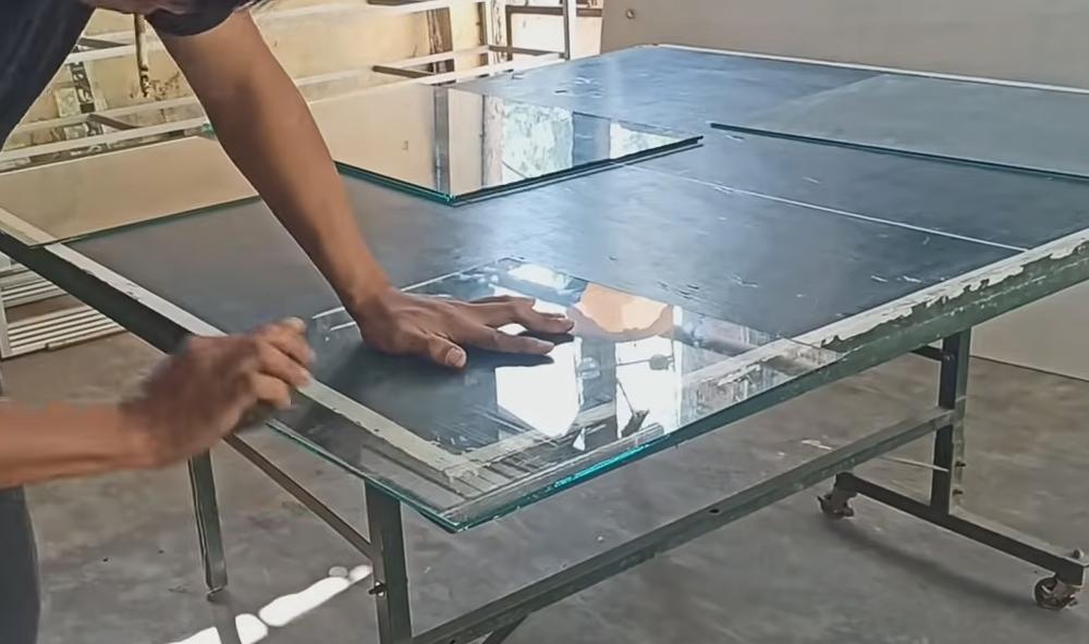 glass to make an aquarium