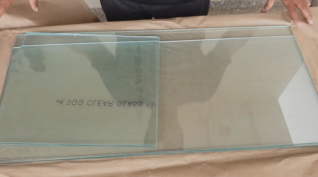 glass to make aquarium
