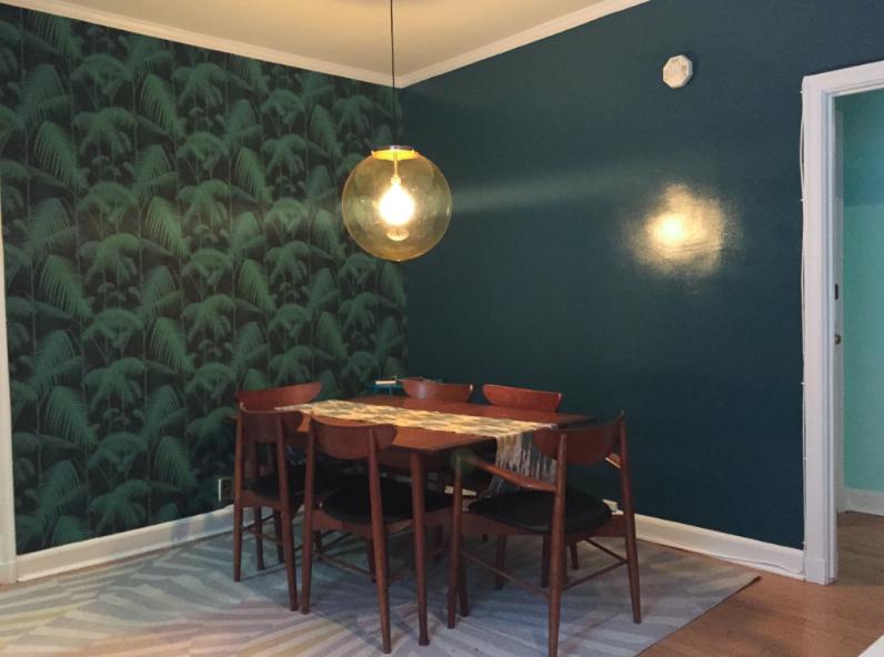 corner wallpaper