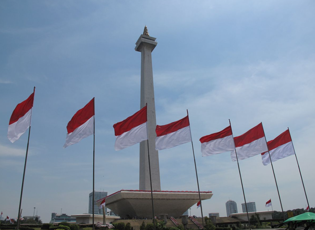 national monument, historical building in Indonesia