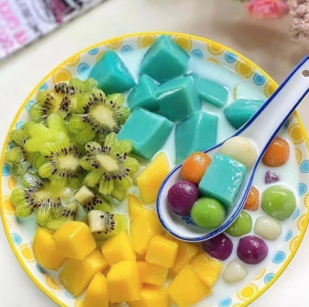 Pudding Fruits untuk berbuka puasa