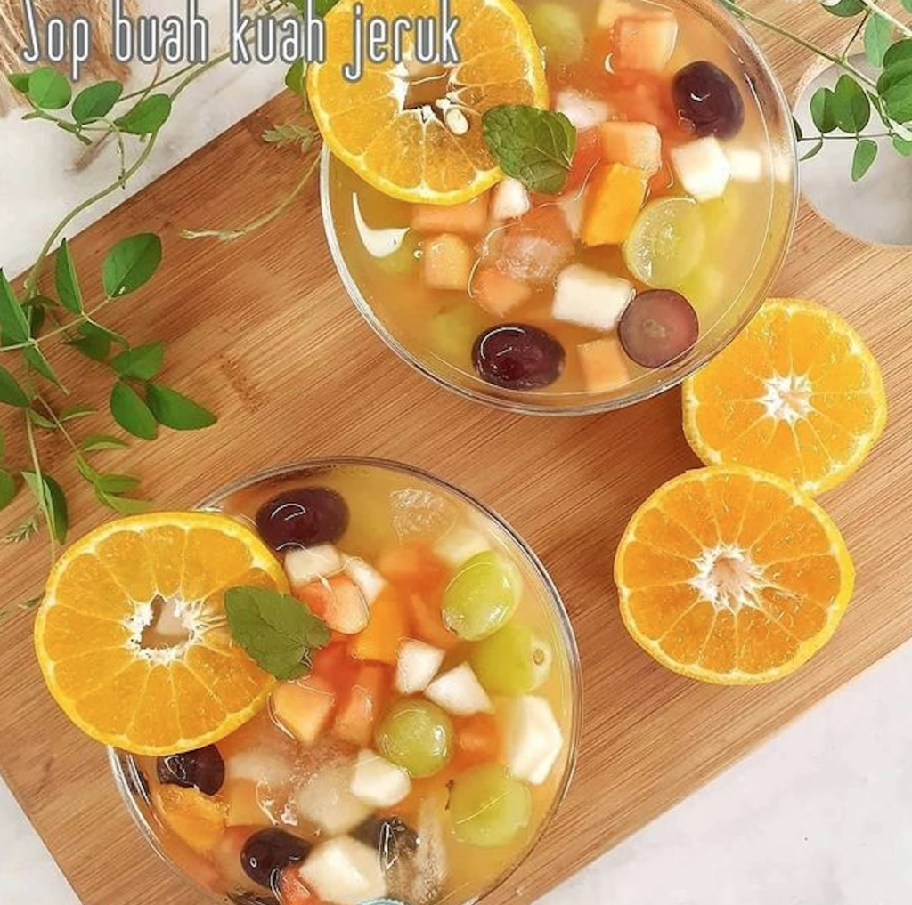 Es Sop Buah kuah jeruk