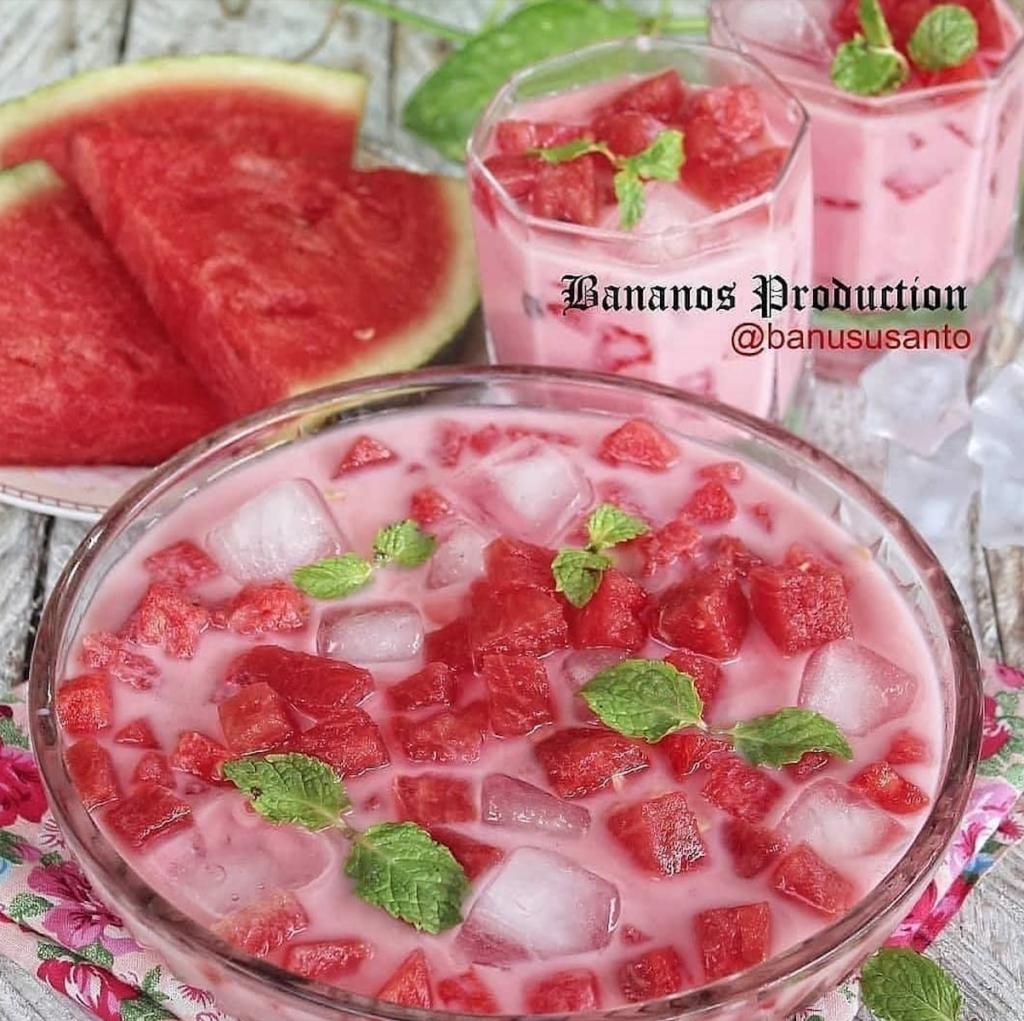 Es semangka susu