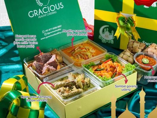 parcel containing ketupat Eid