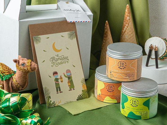 ice cream parcel