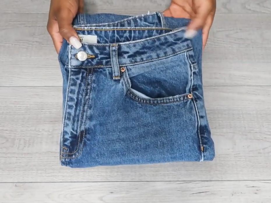 cara melipat celana