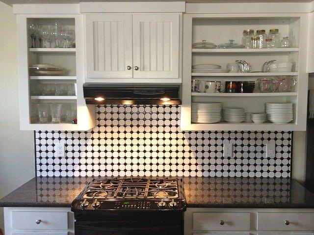 Desain dapur Berpola sederhana