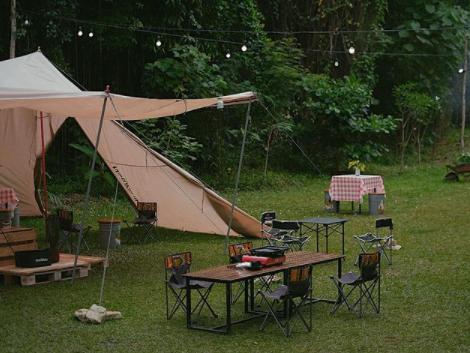 wisata kuliner di camp coffee and nature