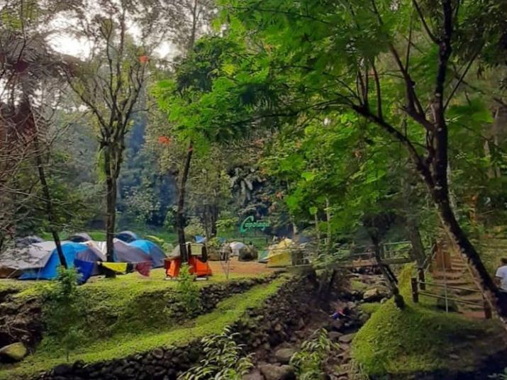 capolaga camping ground